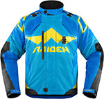 ICON RAIDEN DKR Adventure Dual Sport Motorcycle Jacket (Blue)