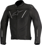 Alpinestars 2015 T-GP R AIR Textile Motorcycle Jacket (Black)