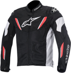 Alpinestars 2015 T-GP R AIR Textile Motorcycle Jacket (Black/White/Red)