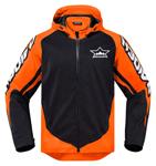 ICON Raiden UX Waterproof Dual-Sport Motorcycle Jacket (Black/Orange)