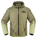 ICON Raiden UX Waterproof Dual-Sport Motorcycle Jacket (Battlescar / Tan)