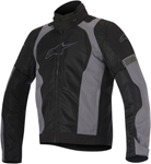 Alpinestars 2016 AMOK AIR Drystar Sport-Touring Jacket (Black/Grey)