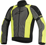 Alpinestars 2016 AMOK AIR Drystar Sport-Touring Jacket (Black/Grey/Yellow)