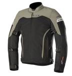 Alpinestars LEONIS Air Drystar Textile/Mesh Motorcycle Riding Jacket (Black/Mil Green)
