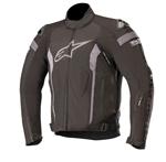 Alpinestars T-MISSILE Drystar Textile Riding Jacket Tech-Air Compatible (Black/Black)