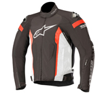 Alpinestars T-MISSILE Drystar Textile Riding Jacket Tech-Air Compatible (Black/White/Red)