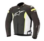 Alpinestars T-MISSILE Air Mesh/Textile Riding Jacket Tech-Air Compatible (Black/White/Yellow)