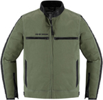 Icon 1000 MH1000 Textile Riding Jacket (Green)