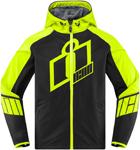 Icon MotoSports MERC Crusader Textile Jacket CE Certified (Hi Viz)