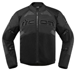 Icon Motosports CONTRA 2 Textile Riding Jacket (Stealth Black)