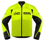 Icon Motosports CONTRA 2 Textile Riding Jacket (Hi-Viz)
