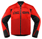Icon Motosports CONTRA 2 Textile Riding Jacket (Red)