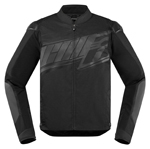 Icon Motosports OVERLORD SB2 Prime CE Textile Riding Jacket (Stealth Black)