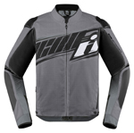 Icon Motosports OVERLORD SB2 Prime CE Textile Riding Jacket (Grey)