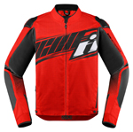 Icon Motosports OVERLORD SB2 Prime CE Textile Riding Jacket (Red)