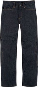 ICON Insulated Cold-Weather Denim Motorcycle Jeans/Pants (Blue)