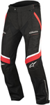 Alpinestars Men's RAMJET Air Textile/Mesh Street Riding Pants (Black/Red/White)