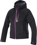 Alpinestars Stella SPARK Softshell Motorcycle Jacket (Black/Pink)