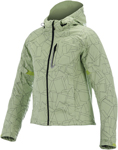 Alpinestars Stella SPARK Softshell Motorcycle Jacket (Green/Black)