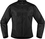 ICON Ladies ANTHEM 2 Fighter Mesh Motorcycle Jacket (Black)