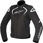 Alpinestars Stella T-JAWS Waterproof Textile Jacket (Black/White)