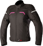 Alpinestars Stella HYPER Drystar Sport-Touring Jacket (Black/Pink)