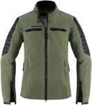 Icon 1000 Women's MH1000 Textile Riding Jacket (Green)