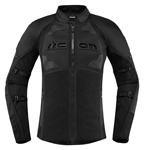 Icon Motosports Women's CONTRA 2 Textile Riding Jacket (Stealth Black)