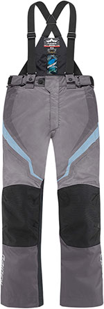 ICON Ladies RAIDEN DKR Dual Sport Motorcycle Pants (Charcoal)