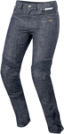 Alpinestars Women's RILEY Denim Urban Motorcycle Pants/Jeans w/Kevlar (Black)