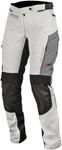Alpinestars Women's Stella ANDES V2 Drystar Adventure Touring Motorcycle Pants (Grey/Black)