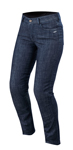 Alpinestars Women's Stella COURTNEY Denim Riding Pants/Jeans (Dark Rinse)