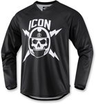 Icon Motosports SELLOUT Jersey/Shirt (Black)