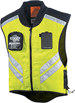 ICON Mil-Spec Mesh Motorcycle Visibility Vest (Mil-Spec Yellow)