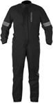 Alpinestars HURRICANE 1-Piece Waterproof Motorcycle Rain Suit (Black)