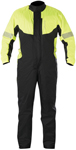 Alpinestars HURRICANE 1-Piece Waterproof Motorcycle Rain Suit (Flo Yellow/Black)