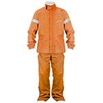 Alpinestars Quick Seal Two-Piece Motorcycle Rainsuit (Orange)