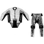 ALPINESTARS Racing Two-Piece Over-Suit Rainsuit (Clear/Black)