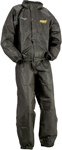 MOOSE Utililty Division Offroad MUD 2-Piece Motorcycle Rainsuit (Black)