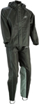 Z1R Women's Motorcycle Riding Rain Suit (Black)