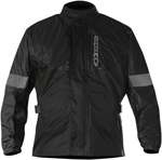 Alpinestars HURRICANE Waterproof Motorcycle Rain Jacket (Black)
