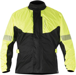 Alpinestars HURRICANE Waterproof Motorcycle Rain Jacket (Flo Yellow/Black)