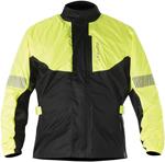 Alpinestars HURRICANE Waterproof Motorcycle Rain Jacket (Flo Yellow/Black)