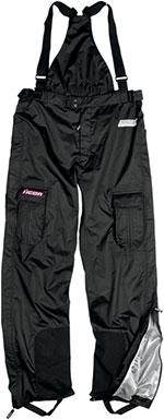 ICON Ladies PDX Rain Waterproof Motorcycle Bibs (Black/Pink)