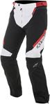 Alpinestars 2017 RAIDER Drystar Textile All-Weather Touring Pants (Black/White/Red)