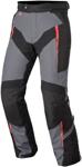 Alpinestars YOKOHAMA Drystar Adventure-Touring Motorcycle Riding Pants (Gray/Black/Red)