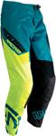 Moose Racing MX Off-Road Qualifier Pants (Teal Blue/Hi-Viz Yellow)