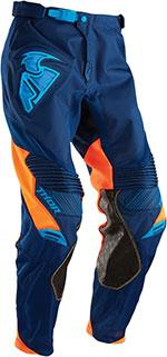 THOR MX Motocross 2016 Men's CORE Pants (CONTRO Navy/Orange)