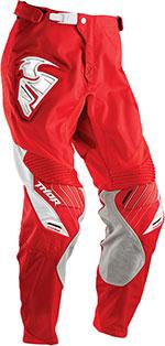 THOR MX Motocross 2016 Men's CORE Pants (CONTRO White/Red)