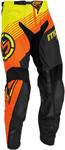 MOOSE Racing MX Motocross Offroad 2016 SAHARA Pants (Orange/Yellow)